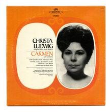 Christa Ludwig – <cite>Bizet's Carmen</cite> album art