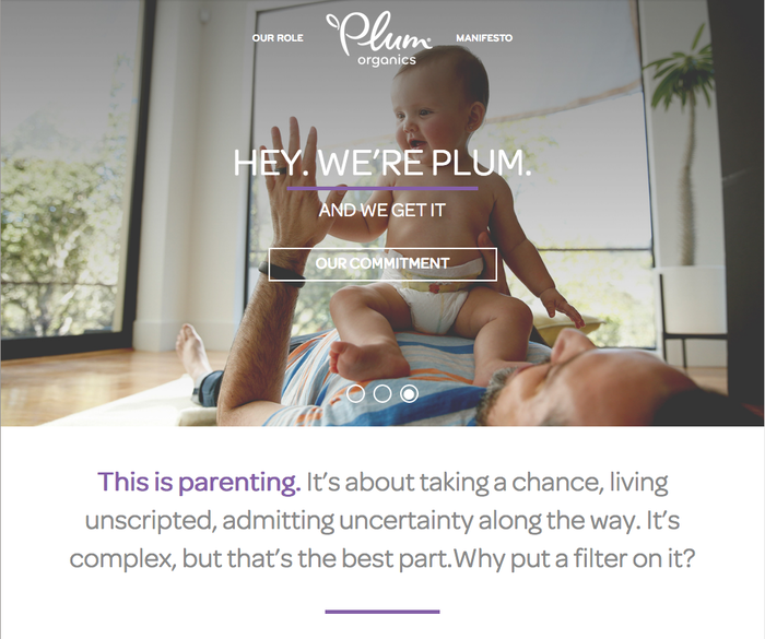Omnes on Plum's Parenting Unfiltered website from 2015.