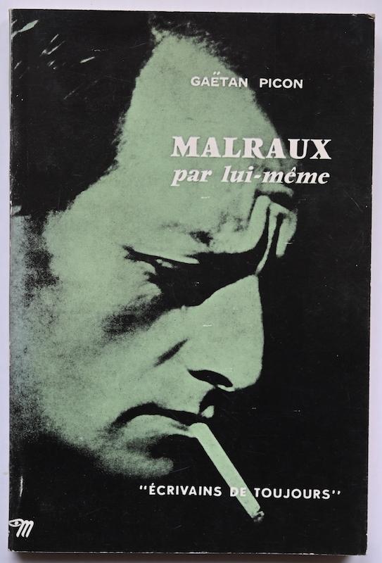 Gaëtan Picon: Malraux par lui-même, n° 12, 1953. Cover photo: Boris Peskine.