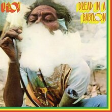 U-Roy – <cite>Dread In A Babylon</cite> album art