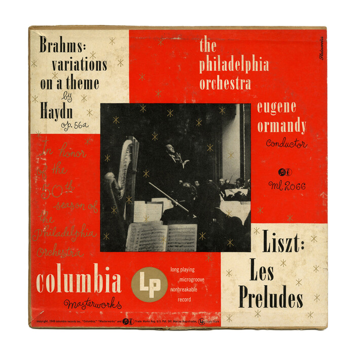The Philadelphia Orchestra – Liszt: Les Préludes / Brahms: Variations On A Theme By Haydn album art