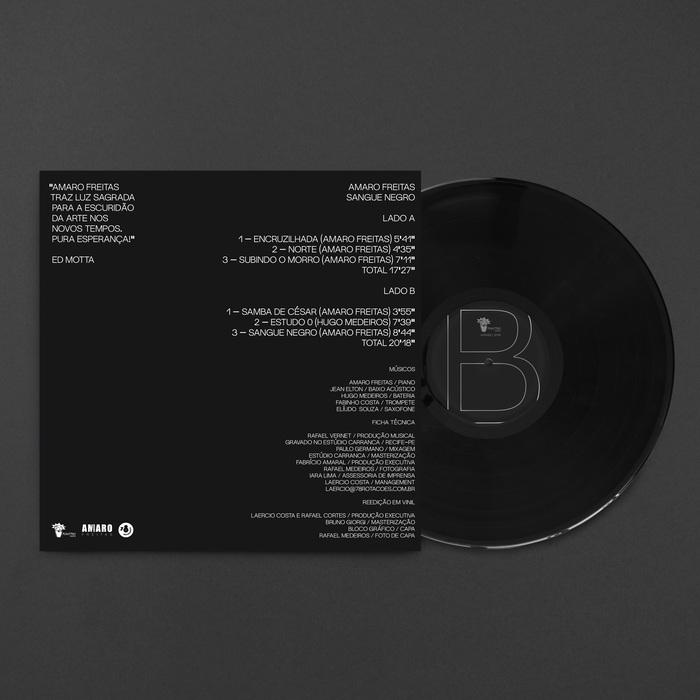 Amaro Freitas – Sangue Negro album art 2