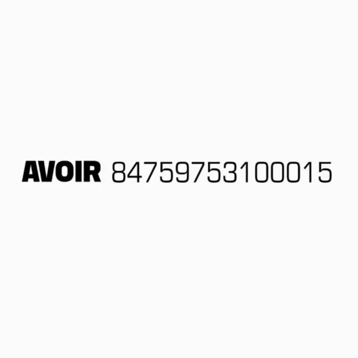 Avoir identity and website 1