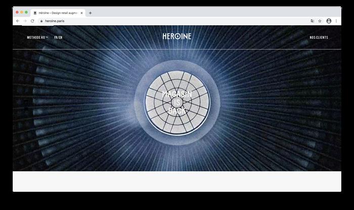 Héroïne website 1