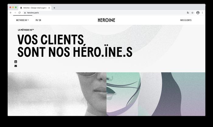 Héroïne website 5