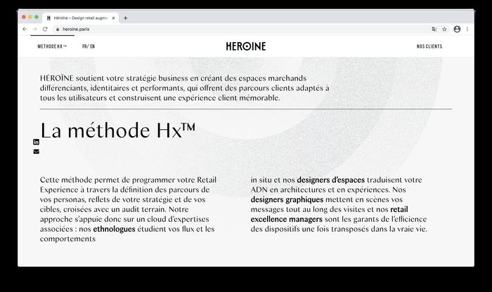 Héroïne website 6