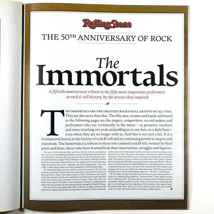 Rolling Stone magazine (2004–2006) 2