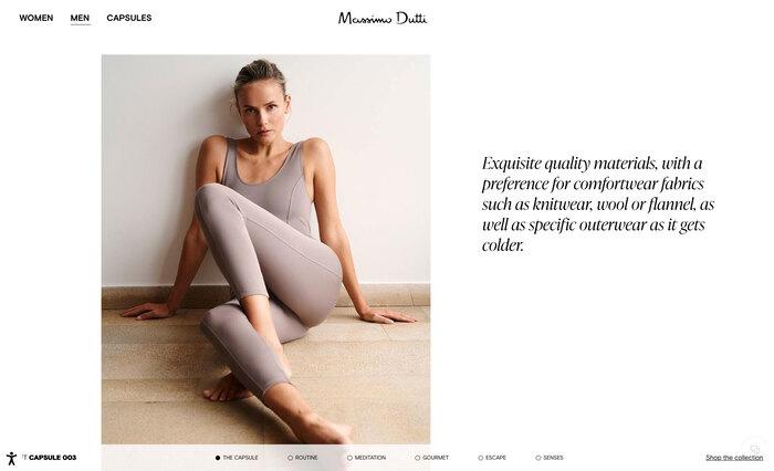 Massimo Dutti website 3