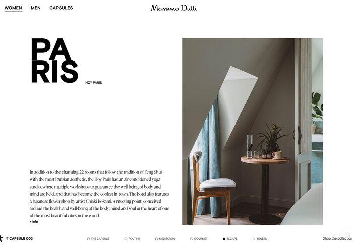 Massimo Dutti website 4