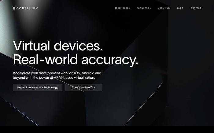Corellium website 1