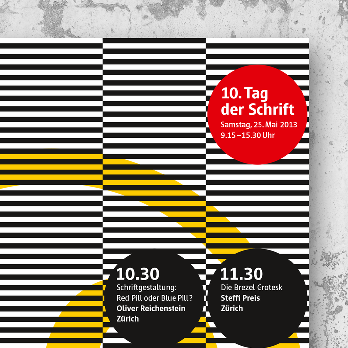 10. Tag der Schrift poster and flyer 2