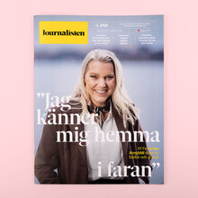 <cite>Journalisten</cite> magazine redesign 2020