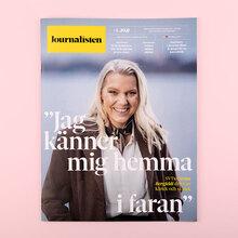 <cite>Journalisten</cite> magazine redesign 2020