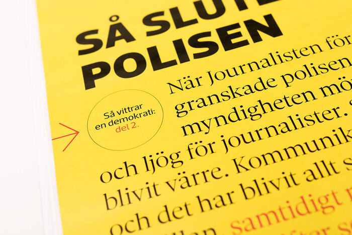 Box detail featuring Acto and Sole Serif.