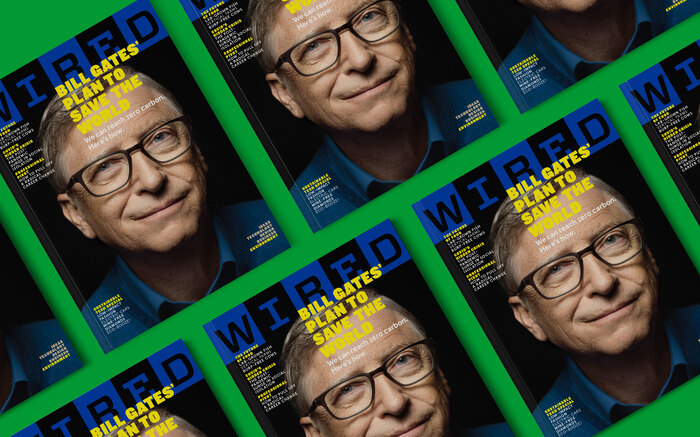 "Wired magazine ""Bill Gates"" issue, March/April 2021 4"