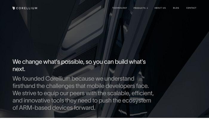 Corellium website 5