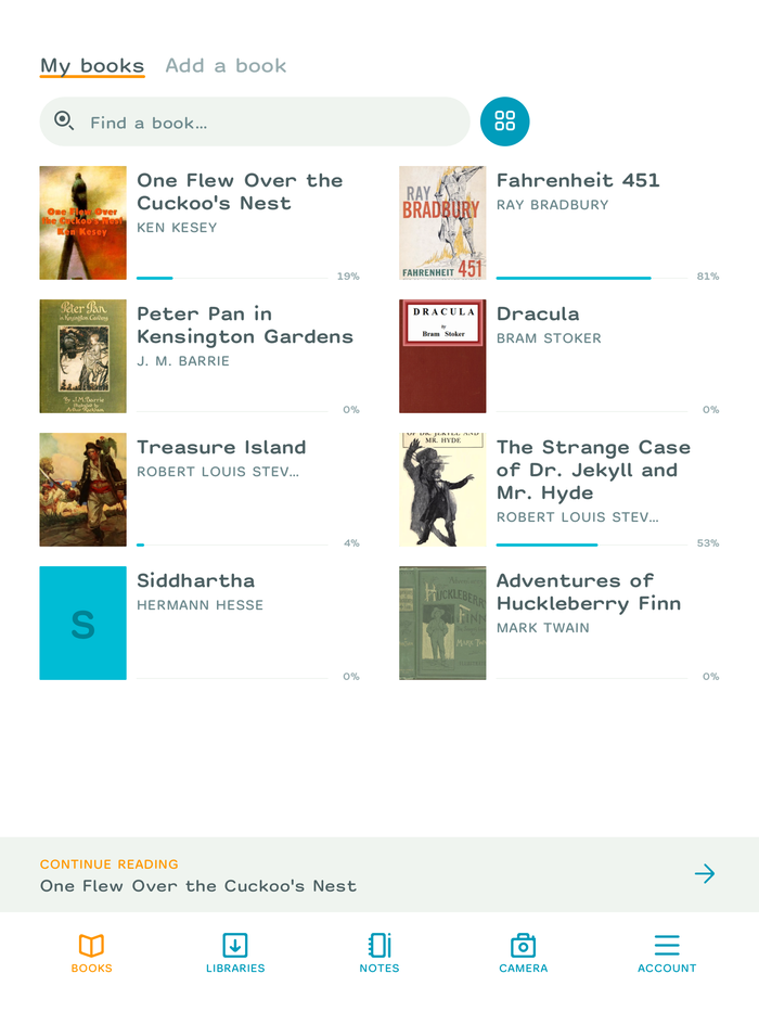 Omoguru Reader app and web extension 1