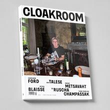 <cite>Cloakroom</cite> magazine Issue 1, October 2019.