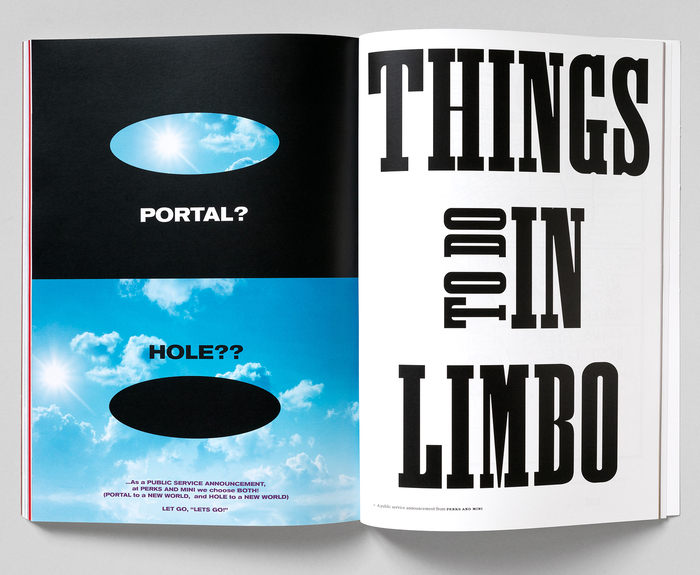 Limbo magazine, Issue 1 2