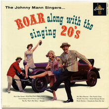 The Johnny Mann Singers – <cite>Roar Along With The Singing 20's</cite> album art