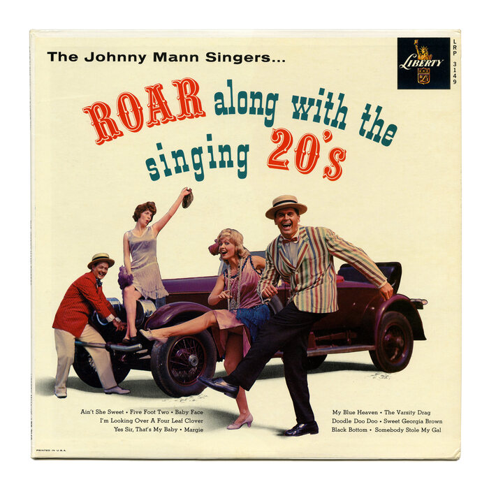 The Johnny Mann Singers – Roar Along With The Singing 20's album art