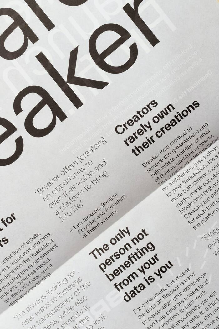 Breaker visual identity 6
