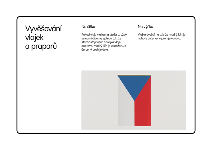 Česká vlajka website 3