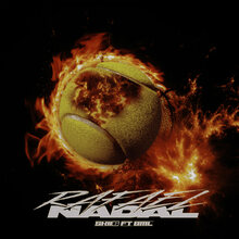 "Skii6 ft. BML – ""Rafael Nadal"" single cover"