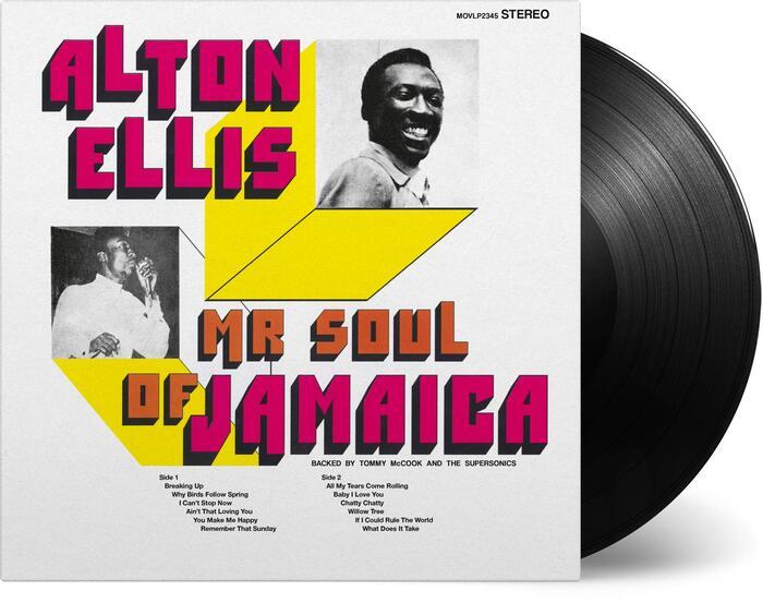 Alton Ellis — Mr Soul of Jamaica album cover 1