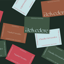 Belvedere Agency identity & website