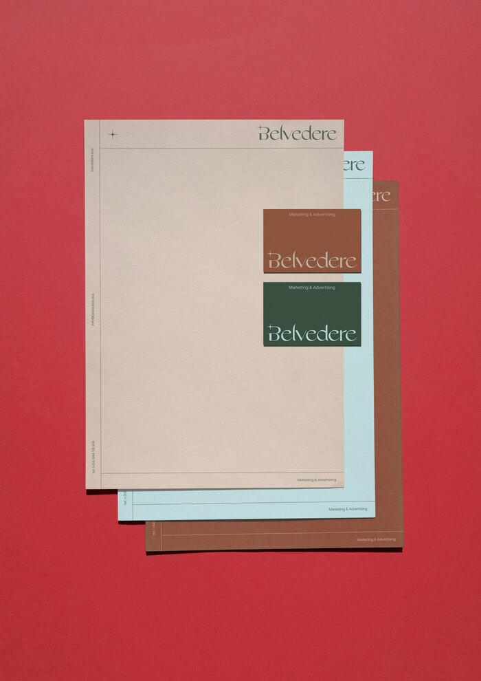 Belvedere Agency identity & website 3
