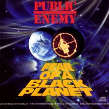 Public Enemy – <cite>Fear of a Black Planet</cite> album cover