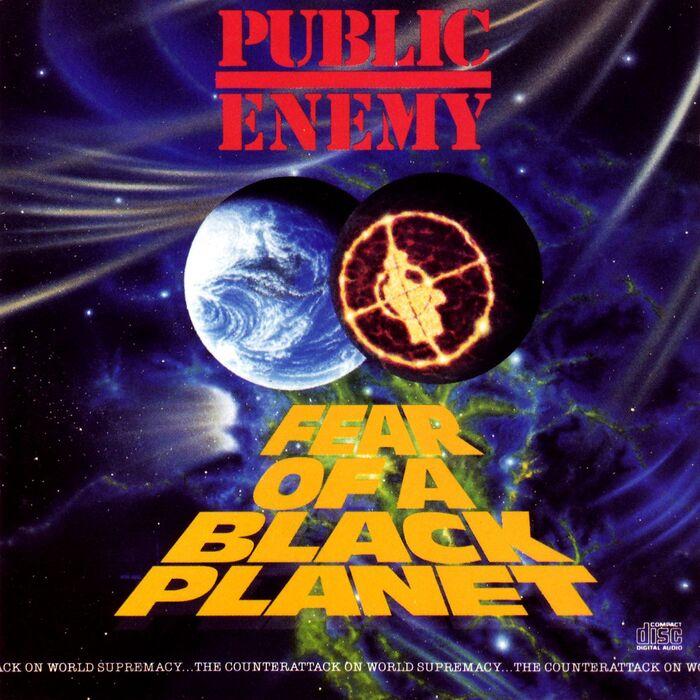Public Enemy –Fear of a Black Planet album cover 1