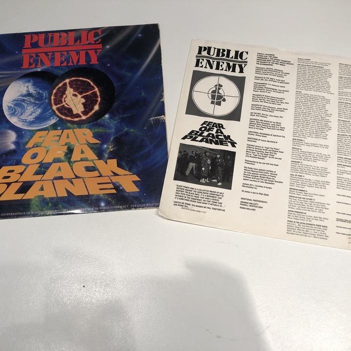 Public Enemy –Fear of a Black Planet album cover 5