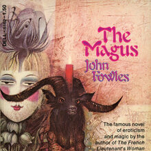 <cite>The Magus</cite> by John Fowles (Dell, 1973)