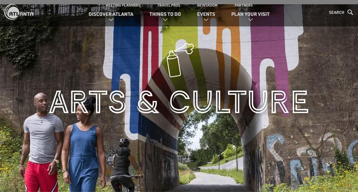Discover Atlanta website 1