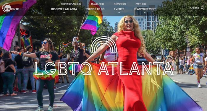 Discover Atlanta website 2