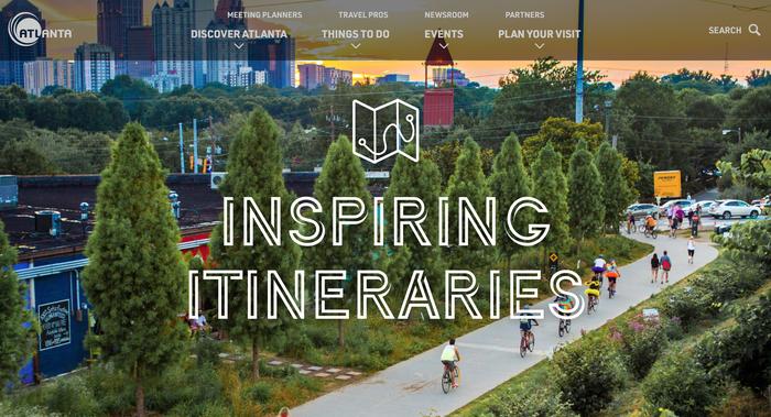 Discover Atlanta website 4