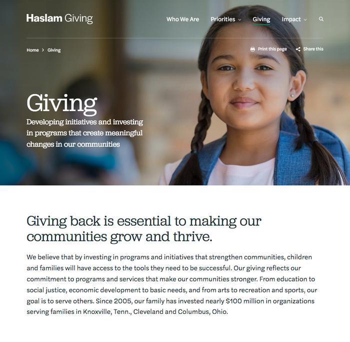 Haslam Giving 3