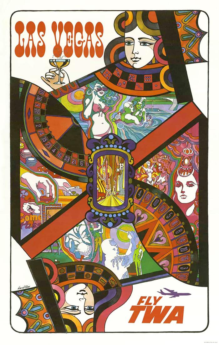 Las Vegas poster for TWA 1