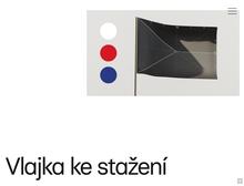 Česká vlajka website