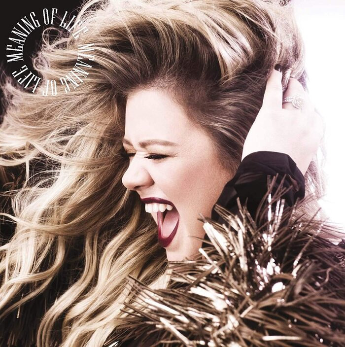 Kelly Clarkson – Meaning of Life album art 1