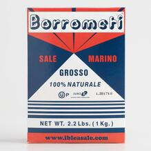 Borrometi sea salt packaging