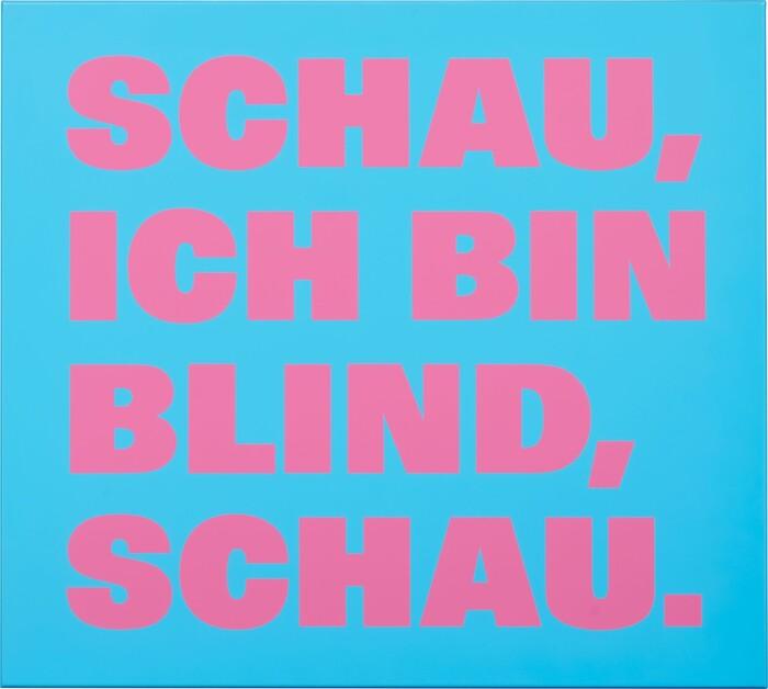 Schau, ich bin blind, schau, 1997.