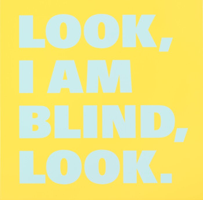 Look/I am/Blind/Look (Nr 16), 1998/99.