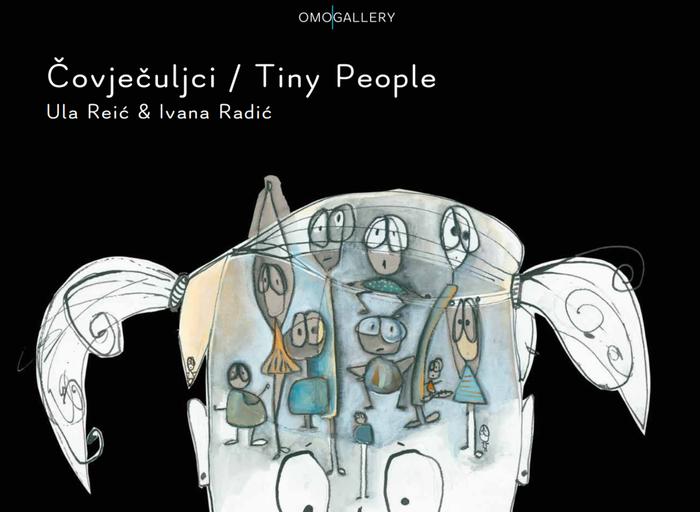 Čovječuljci / Tiny people and Zvijezda koja čita / The Reading Star by Ula Reić 5
