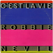 "Robbie Nevil – ""C'est La Vie"" single cover"