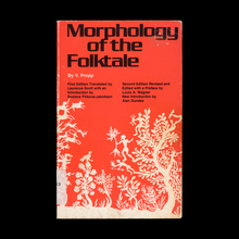 <cite>Morphology of the Folktale</cite> by <span><span>Vladimir</span></span> Propp