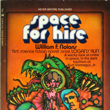 <cite>Space for Hire</cite> by William F. Nolan (Lancer)