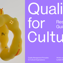Quality for Culture website and publications